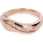 Silver Cat Stříbrný prsten s krystaly SC052