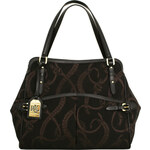 Ralph Lauren Elegantní kabelka Peyton černá/zlatá