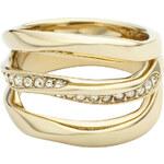 Fossil Zlatý prsten Holiday Twist JF01615710