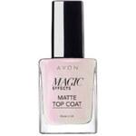 Avon Povrchový lak na nehty s matujícím efektem (Magic Matte Top Coat) 10 ml