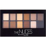 Maybelline Paleta očních stínů The Nudes 9,6 g