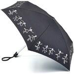 Fulton Dámský skládací deštník Lulu Guinness LG Tiny 2 Dancing Girls L717