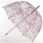 Fulton Dámský průhledný holový deštník Lulu Guinness LG Birdcage 2 Roughly Cut Out Spot L719