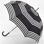Fulton Dámský holový deštník Lulu Guinness LG Eliza 2 Stripes L720