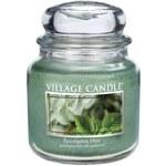 Village Candle Vonná svíčka ve skle Eukalyptus a máta (Eucalyptus Mint) 454 g