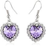 Vicca® Náušnice Diamond Purple OI_407005_lightpurple