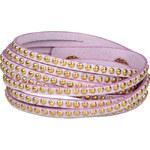 Troli Náramek Wrap Pastel 4x Violet