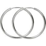 Troli Náušnice stříbrné kruhy 431 001 01005