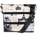 Dara bags Crossbody kabelka Dariana Mini No. 1253 I Love Paris