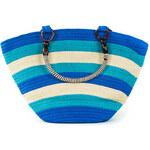 Art of Polo Dámská taška beach bag stripes - modrá tr15132.2