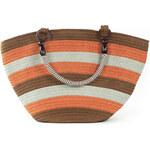 Art of Polo Dámská taška beach bag stripes - natural tr15132.5