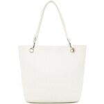 Magid Dámská taška Paper Straw Shopper Tote White
