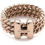 Tommy Hilfiger Ocelový prsten v barvě růžového zlata TH2700482