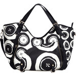Desigual Kabelka Rotterdam Black and White Negro 56X5LA3 2000
