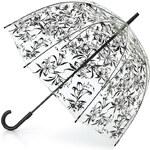 Fulton Dámský průhledný holový deštník Birdcage 2 Lily L042-8