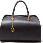 Mangotti Elegantní kožená kabelka 415 Nero