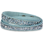 Troli Náramek Wrap Charm Light Blue