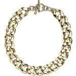 Michael Kors Masivní pozlacený náhrdelník MKJ3815710