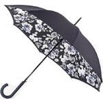 Fulton Dámský holový deštník Bloomsbury 2 Mono Floral L754