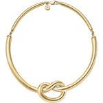 Michael Kors Pozlacený náhrdelník s uzlem MKJ4361710