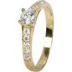 Brilio Dámský prsten s krystaly 229 001 00668