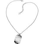 Guess Ocelový náhrdelník Psí známka USN80910