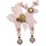Deers Velká brož růžová Chloé II.