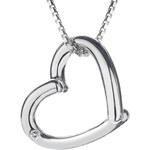 Hot Diamonds Stříbrný náhrdelník Hot Diamonds Just Add Love DP214