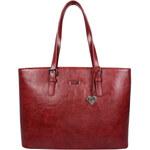 LYLEE Elegantní kabelka Amelia Tote Bag Red