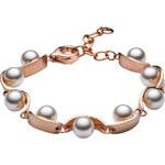 Skagen Dámský ocelový náramek s perličkami SKJ0763791
