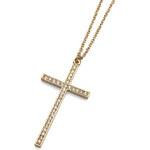 Oliver Weber Trendy náhrdelník s křížkem 11638G