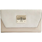 Guess Elegantní peněženka Angela Clutch bílá