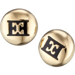 Escada Pecičkové náušnice Black Meets Gold E64067