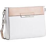 Calvin Klein Elegantní crossbody kabelka Valerie Top Zip Date Bag White