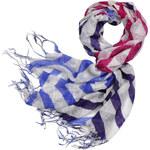 Art of Polo Dámský MAXI šátek Wide Stripes sz0214.4