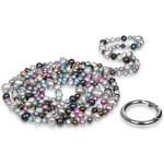 JwL Jewellery Dlouhý náhrdelník z pravých barevných perel JL0182