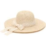 Art of Polo Dámský letní klobouk s krajkovou stuhou - béžový cz16231.1