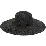 Art of Polo Dámský letní klobouk s korálky - černý cz16115.3
