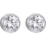 Preciosa Stříbrné náušnice s velkým krystalem Brilliant Star 5196 00