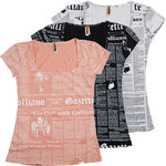 Dámské triko John Galliano