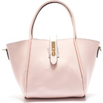Mangotti Elegantní kožená kabelka 3039 Rosa