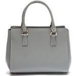 Mangotti Elegantní kožená kabelka 3040 Grigio