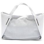 Mangotti Elegantní kožená kabelka 878 Bianco