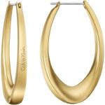 Calvin Klein Pozlacené náušnice Shape KJ3YJE110100