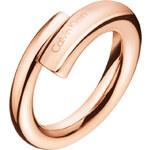 Calvin Klein Růžově zlatý prsten Scent KJ5GPR1001