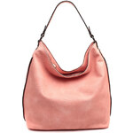 Lecharme Elegantní růžová kabelka Lily 32541