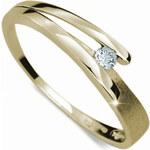 Danfil Něžný prsten s diamantem DF1716z