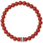 Tommy Hilfiger Červený korálkový náramek TH2700678