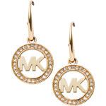 Michael Kors Zlaté náušnice s krystaly MKJ4794710