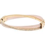 Michael Kors Luxusní pozlacený náramek s krystaly MKJ5181710